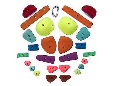 Rock Climbing Holds - TNUT CLIMBING System Board PACK - 30 holds
