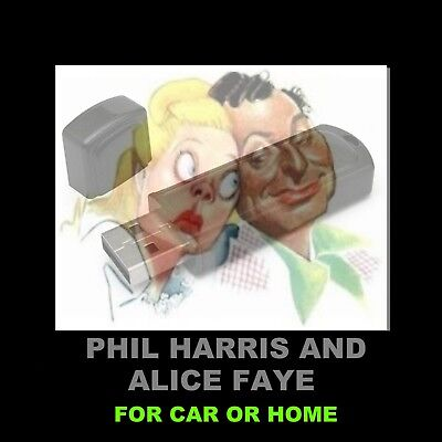 Phil Harris & Alice Faye. Enjoy 250 Old Time Radio Shows In Your Car Or At Home!