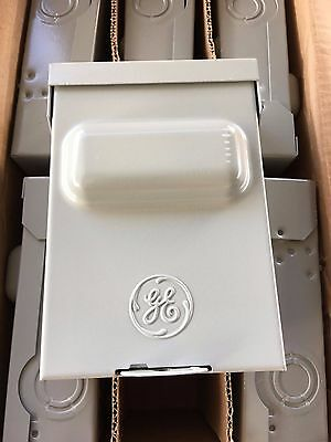 Case of 6 GE TFN60R 60A 240V 3R Non-Fused 60 Amp AC Disconnect NEW! FREE SHIP!