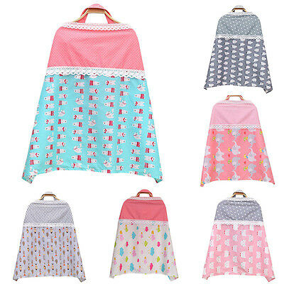 Baby Nursing Cover Mother Breastfeeding Blanket Infant Breathable Cloth Apron