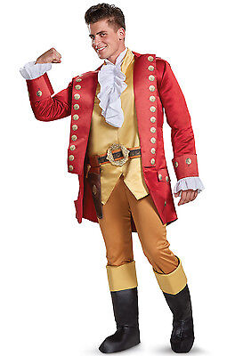 Brand New Beauty and the Beast Gaston Deluxe Adult Costume