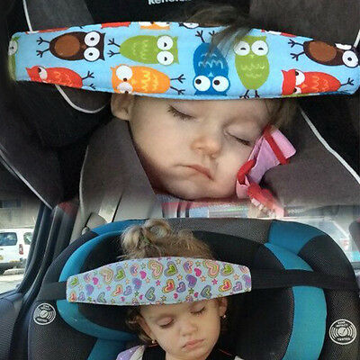 Adjustable Child Kids Infant Safety Car Seat Travel Sleep Aid Head Strap Support