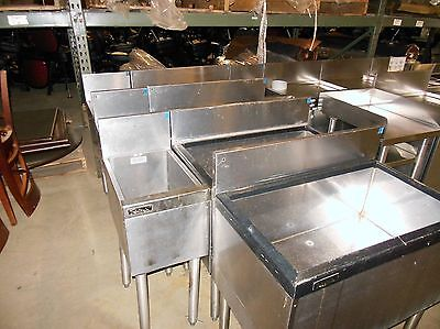 Perlick 12 Inch Cold Plate Bar Ice Storage 12 x 21 x 30