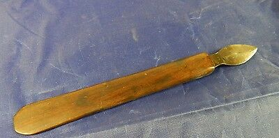 Rare Medical Scalpel Well Marked Bone Handle