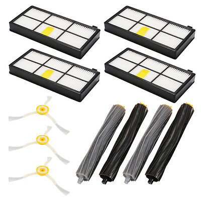 Brush Filter Extractor Replacement Replenishment Kit for iRobot Roomba 800 HS966
