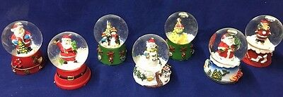 Miniature Snow Globes ( 6 Different to Choose From)