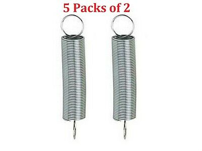 [5 Packs of 2] Century C-81 Utility Extension Spring 7/16 x 1-7/8 x .028