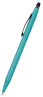 Cross Classic Click Gel Ink Pen, Metallic Teal Brand New in Gift Box AT0622