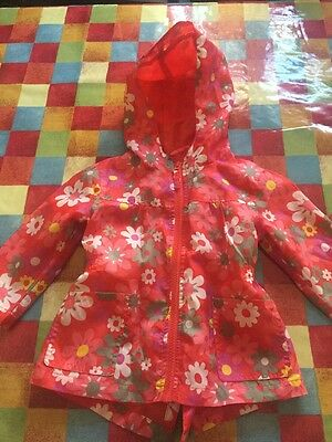 Baby Girls Next Floral Cagoule PAC A Mac 12 18 Months