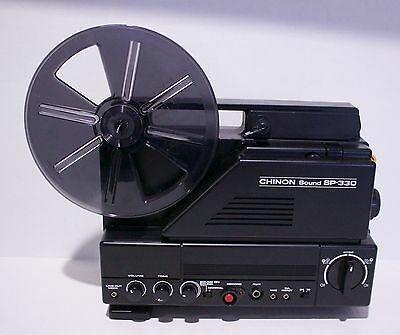Chinon Sound SP-330  Super 8mm Projector - 18 24 FPS