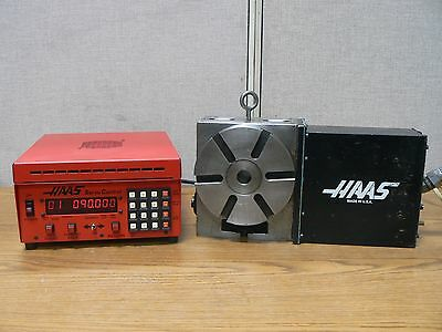 Haas Hrt160 17 Pin Rotary Table Indexer With Haas Servo Controller