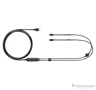 Shure (RMCE-LTG) Remote + Mic MMCX Lightning Cable for SE Series In-Ear Monitors