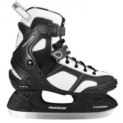 POWERSLIDE Skates Ice unisex THUNDER white black 902 139 comfortable warm