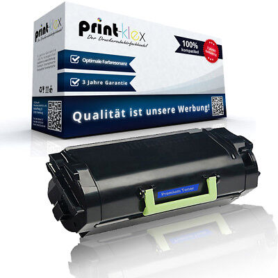 Compatible Toner Cartridge for Lexmark 522H Replacement XL Printer pro Series