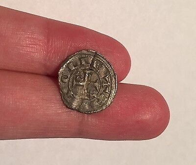 Medieval Knights Templar Crusader Coin, Cross Coin, European 11th-12th Century