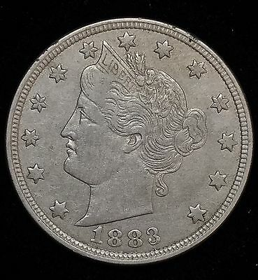 1883 5c Liberty Head Nickel Variety 1 Without CENTS #693