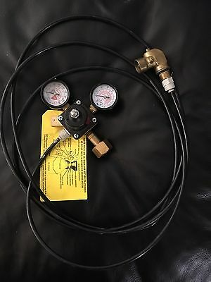 Used CO2 tank Upgrade Kit For Breakmate Coca-Cola machine Use Regular CO2 Tank!!