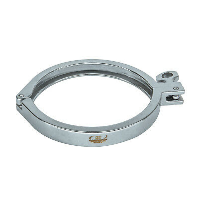 """HFS(R) 8"""" Sanitary Clamp - Tri Clamp Clover Stainless Steel"""