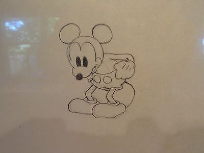 "Giantland"" Walt Disney Productions  Cel1933,original Drawing Of Mickey Mouse"
