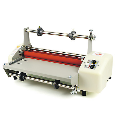 "Speed Adjust 40-180℃ 17.3"" A2 Hot/Cold Laminating Machine Laminator 110V"