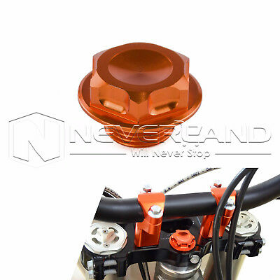 Tusk Billet Steering Stem Nut Orange for KTM 125 150 200 250 300 350 450 500 525