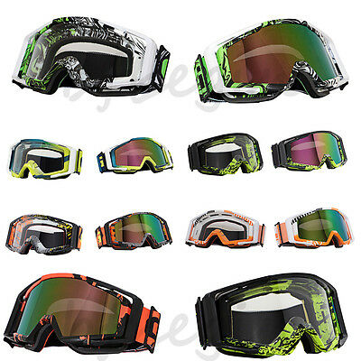 Collapsible Motocross Anti-UV Racing Cycling ATV Dirt Motorcycle Goggles Eyewear