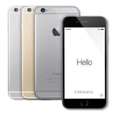Apple iPhone 6 16gb Factory Unlocked Smartphone GSM Gold Silver Space Gray SR