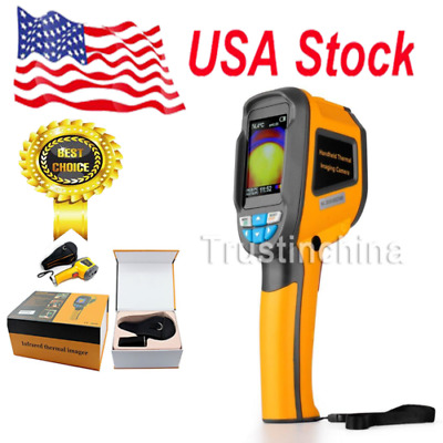 New Handheld Thermal Imaging Camera IR Infrared Thermometer Imager 20℃ to 300℃ T