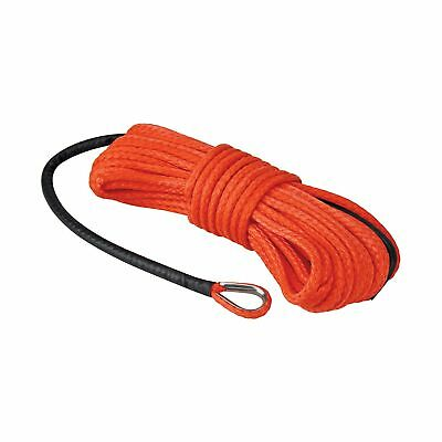 "Extreme Max 5600.3203 ""The Devil's Hair"" ATV / UTV Winch Rope Orange"