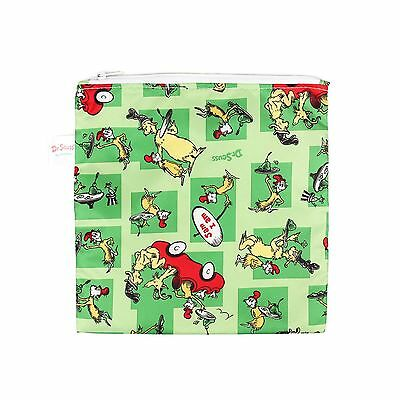 Bumkins Reusable Sandwich and Snack Bag Large Green