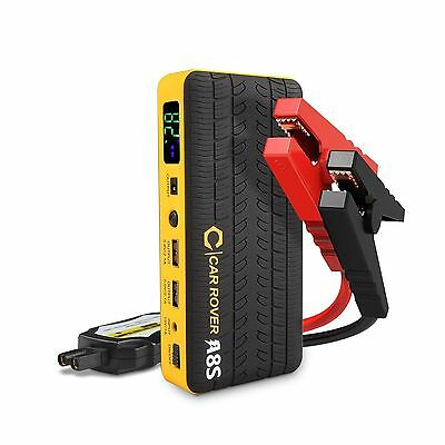 CAR ROVER 60C Discharge 800A Peak Portable Car Jump Starter 14000 mAh Booster...