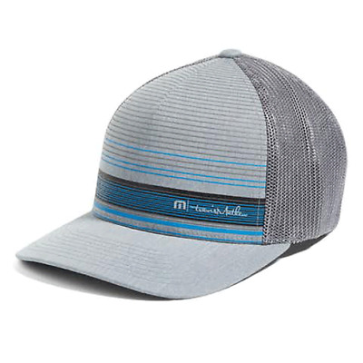 New Travis Mathew Brown Golf Hat - Heather Grey