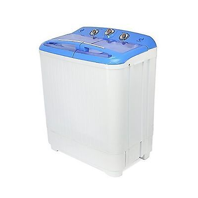 XtremepowerUS Electric Mini Washer and Spin Cycle Portable Washing Machine Wi...