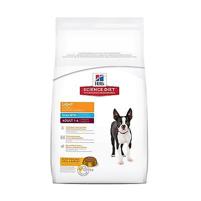 Hill's Science Diet Adult Light Small Bites Dry Dog Food 17.5-Pound Bag