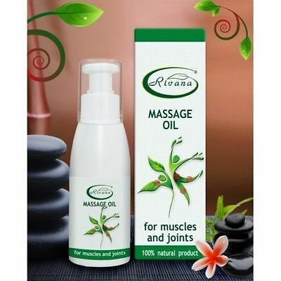 Muscle and Joint Pain Massage Oil 100ml Relaxes Relieves Pain Tension Stiffness