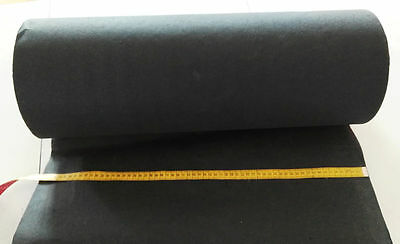 Madeira Cotton Soft Stickvlies E-ZEE reißbar schwarz 5m x 60cm 50g/m² Stickerei