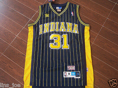 Indiana Pacers # 31 Reggie Miller Basketball Jersey Navy blue Size: S - XXL