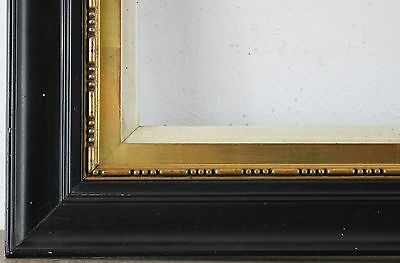 Wood Frame Black Rebate Size approx. 50,5x59,5 cm