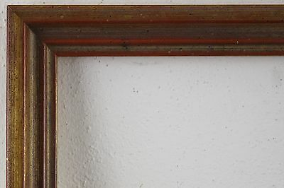 Wood Frame Golden Brown Rebate Size approx. 26, 5x40 cm
