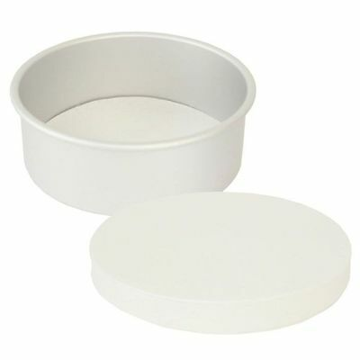 """8"""" Inch Bakers Round Baking Paper Tin Liners Grease-proof Circles"""