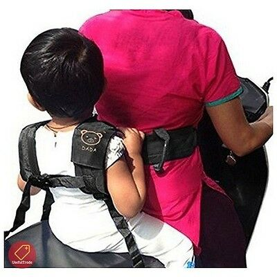 Motorcycle Seat Belt Safety Harness For Kids Toddler Children Security Strap