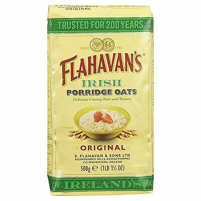 Flahavan's Irish Organic Porridge Oats 500g Cereal