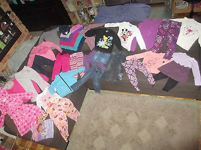 Bulk lot girls sz 3 winter clothes:  Milkshake/Gymboree/Disney Minnie/Tinkerbell