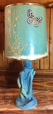 "Scarce Van Briggle ""Rebecca at the Well"" Art Pottery Lamp"