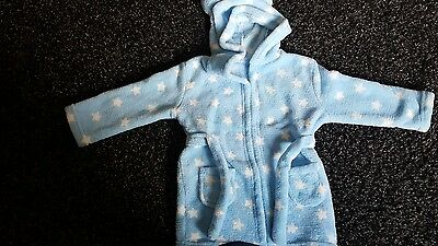 boys dressing gown 18-24 months