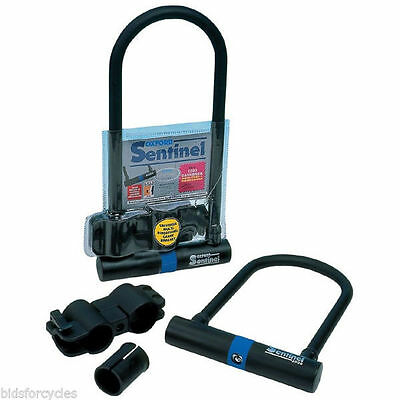 Bicycle Cycle Bike Scooter Sentinel Safety Shackle U Lock D Lock Sold Secure
