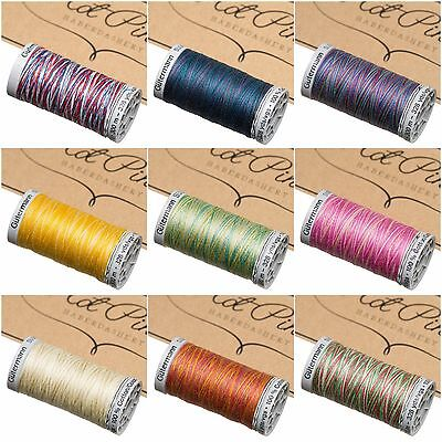 Gutermann Sulky 100 Cotton Machine Embroidery Thread 300m Many