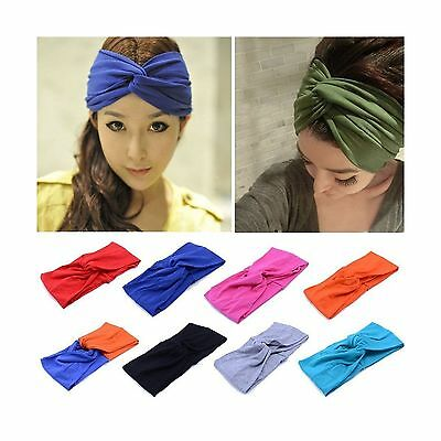 Wowlife Contrast Color Women Girls Wash the Face Headbands Headwrap Hair Band...