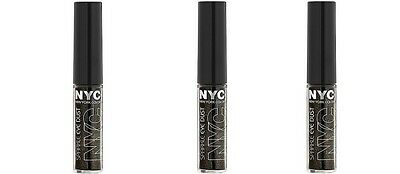 3 Nyc Sparkle Eye Dust #896 Blackened Glimmer New