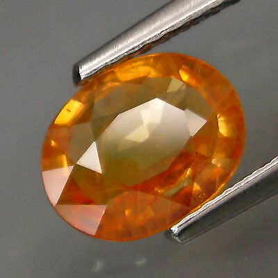 1,28 CTS EXCELENTE ZAFIRO AMARILLO - Natural yellowl no treated Sapphire Africa